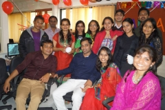 Team at the Inaugration Party