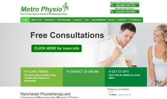 Metro Physio Project
