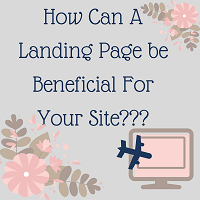 Benefits of Having Landing Pages
