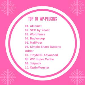 Top Ten WordPress Plugins for Beginners