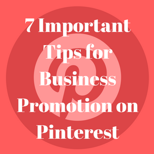 Business Promotion on Pinterest