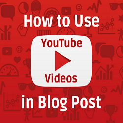 Video in Blog Posts